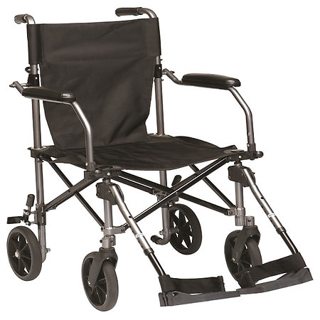Drive Medical Travelite Transport Wheelchair Chair In A