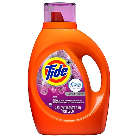 Tide Liquid Laundry Detergent Spring & Renewal - 92 oz.