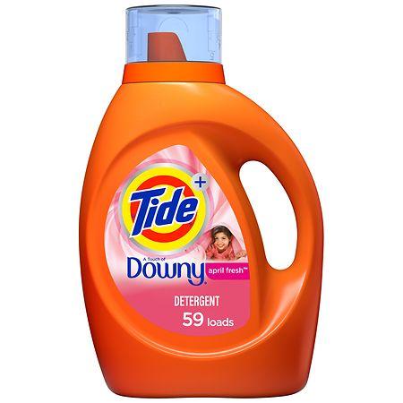 Tide Liquid Laundry Detergent April Fresh - 92 oz.