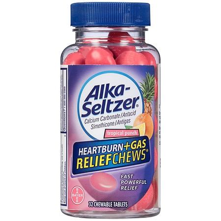 tums and alka seltzer