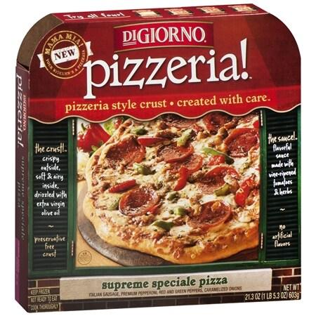 DiGiorno Pizzeria Pizza Supreme Speciale, 12 Inch - 21.3 oz.