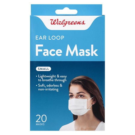 Walgreens Earloop Masks Small