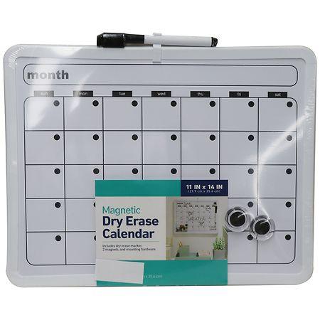 Wexford Dry Erase Calendar 11 x 14 Inch - 1 ea