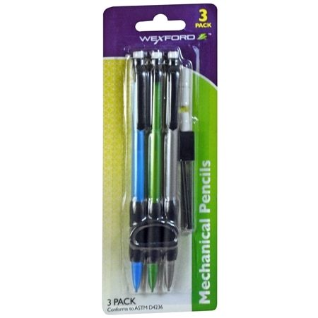 Wexford Mechanical Pencil with Refill - 3 ea