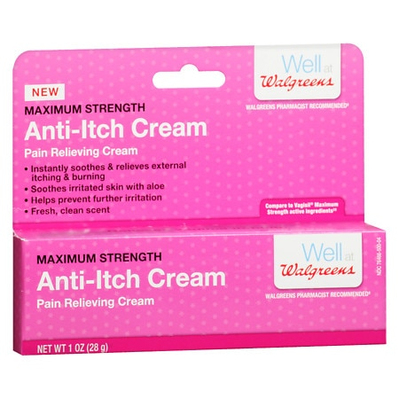 Walgreens Anti-Itch Maximum Strength Vaginal Cream -