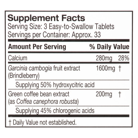 Purely Inspired Garcinia Cambogia Tablets Walgreens