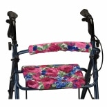 Nova Backrest and Seat Cover 14 Inch English Garden