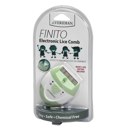 Veridian Healthcare Finito Electric Lice Comb - 1 ea