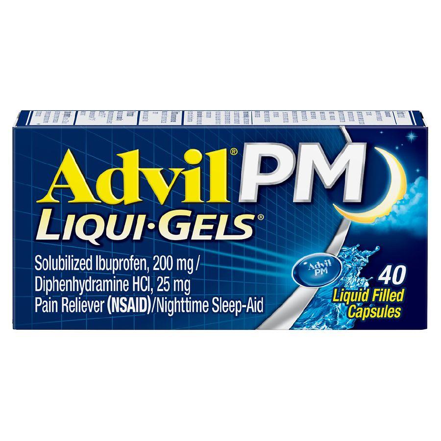 Coupon advil liqui gels