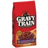 Gravy Train Dry Dog Food Beef, Liver & Bacon