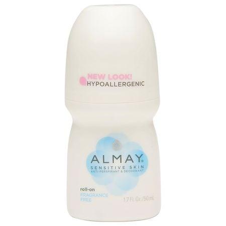 Almay Roll-On Antiperspirant & Deodorant Fragrance Free - 1.7 oz.