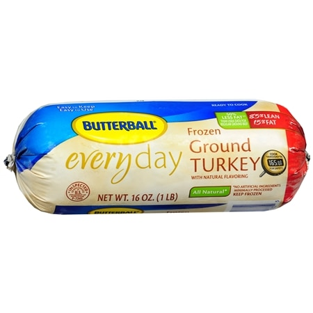 Butterball Ground Turkey Chub 85% Lean - 16 oz.