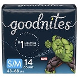 GoodNites Bedtime Bedwetting Underwear for Boys, S/ M