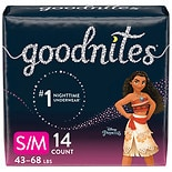 GoodNites Bedwetting Underwear for Girls, S/ M