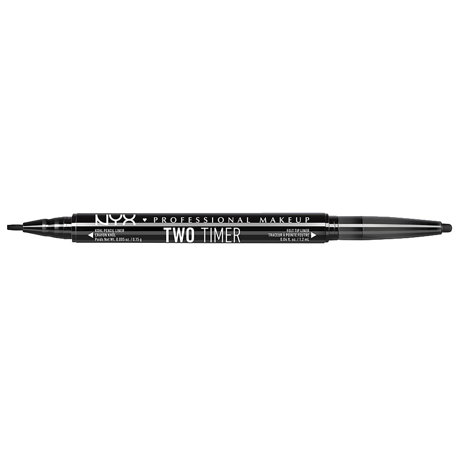 NYX Professional Makeup Two Timer Dual Ended Eyeliner