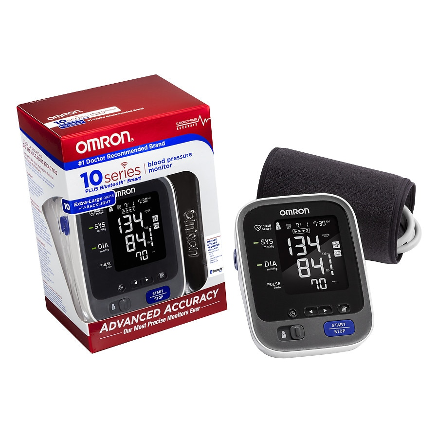 b5703164a Omron 10 Series Wireless Upper Arm Blood Pressure Monitor