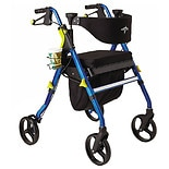 Medline Empower Rolling Walker Blue