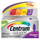Centrum Silver Women Age 50+, Complete Multivitamin/ Multimineral  Supplement Tablet