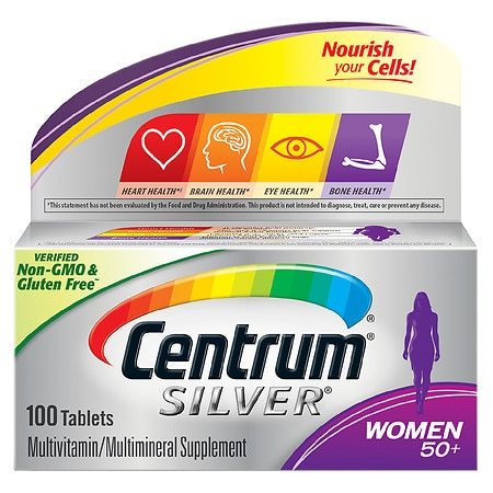 Image of Centrum Silver Women Age 50+, Complete MultivitaminMultimineral Supplement Tablet - 100 ea