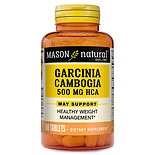 Mason Natural Garcinia Cambogia 500mg, Tablets
