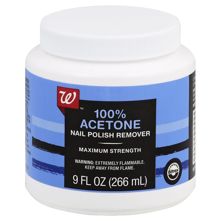 Walgreens Halloween Nail Polish: Studio 35 Beauty 100% Acetone Nail Polish Remover