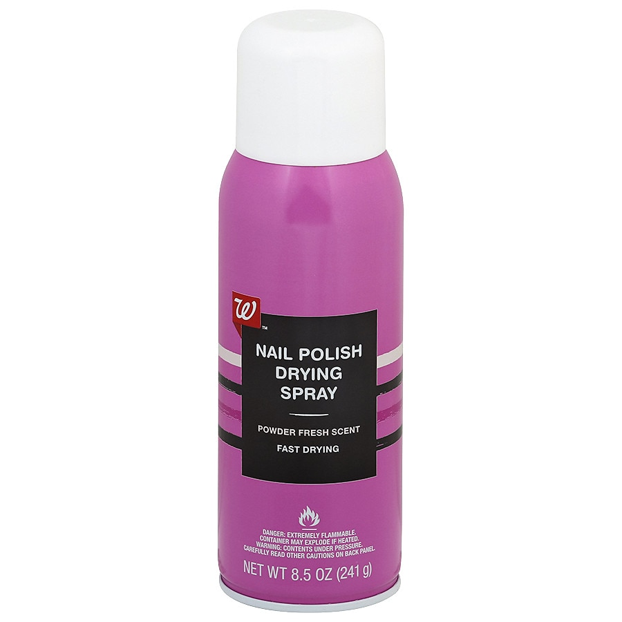 Walgreens Beauty Nail Enamel Dryer Aerosol Fresh Scent | Walgreens