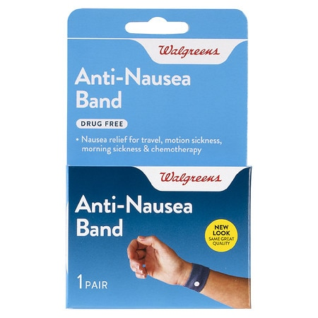 Walgreens Motion Sickness Relief Band - 1 pr