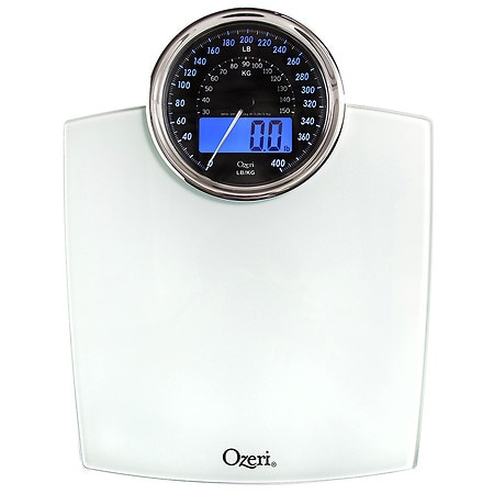 Ozeri Rev Digital Bathroom Scale with Electro-Mechanical Weight Dial - 1 ea