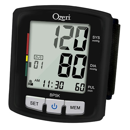 Ozeri BP5K Voice-Guided Blood Pressure Monitor with Smart Hypertension Indicator - 1 ea