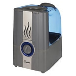 Crane USA Warm Cool Mist Humidifier 1 Gallon Gray