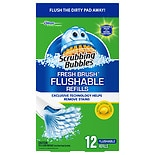 Scrubbing Bubbles Fresh Brush Flushable Refill Citrus Action