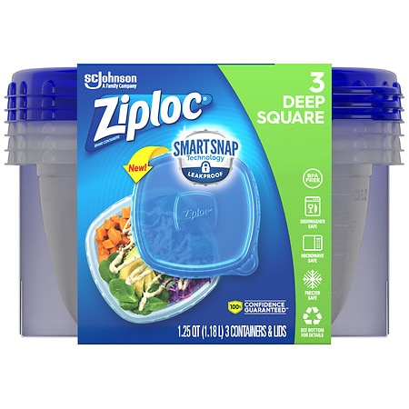 Upc 025700709374 Ziploc Containers Medium Square