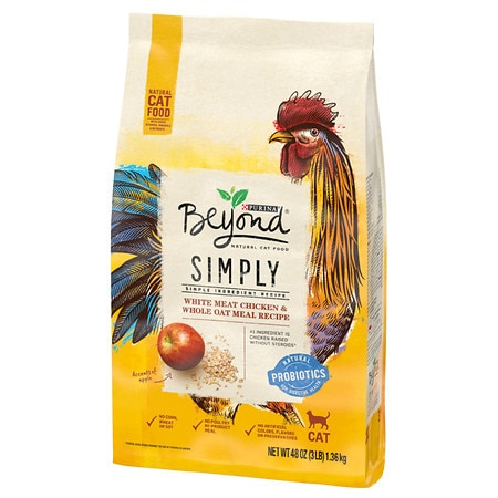 Purina Beyond Cat Food Chicken Oat Review