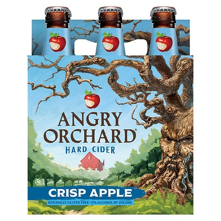 Angry Orchard Hard Cider - 12 oz. x 6 pack