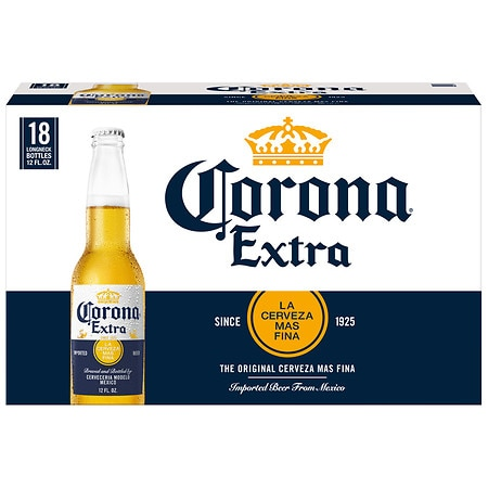 Corona Extra Beer - 12 oz. x 18 pack