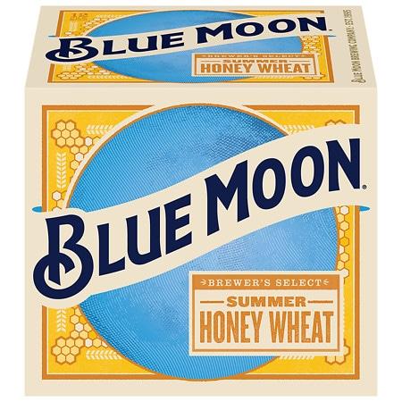 Blue Moon Beer - 12 oz. x 12 pack