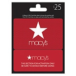 Macy's Real Time Snap $25 Gift Card