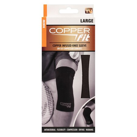 Copper Fit Copper Infused Knee Sleeve Large - 1 ea