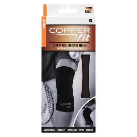 Copper Fit Copper Infused Knee Sleeve X-Large - 1 ea