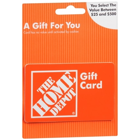 Home Depot Non Denominational Gift Card | Walgreens