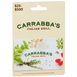 Carrabas Non Denominational Gift Card
