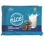 Nice! Sandwich Cookies Chocolate Vanilla Cream