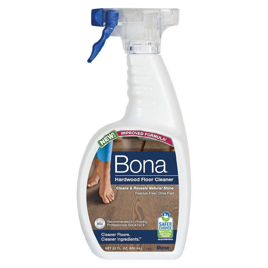 The ready-to-use Bona Stone, Tile, and Laminate Floor Cleaner Cartridge fits into Bona Spray Mops and can be used to clean any linoleum, stone, vinyl, and laminate floors. The formula cleans gently and efficiently, removing dust, dirt, and more.