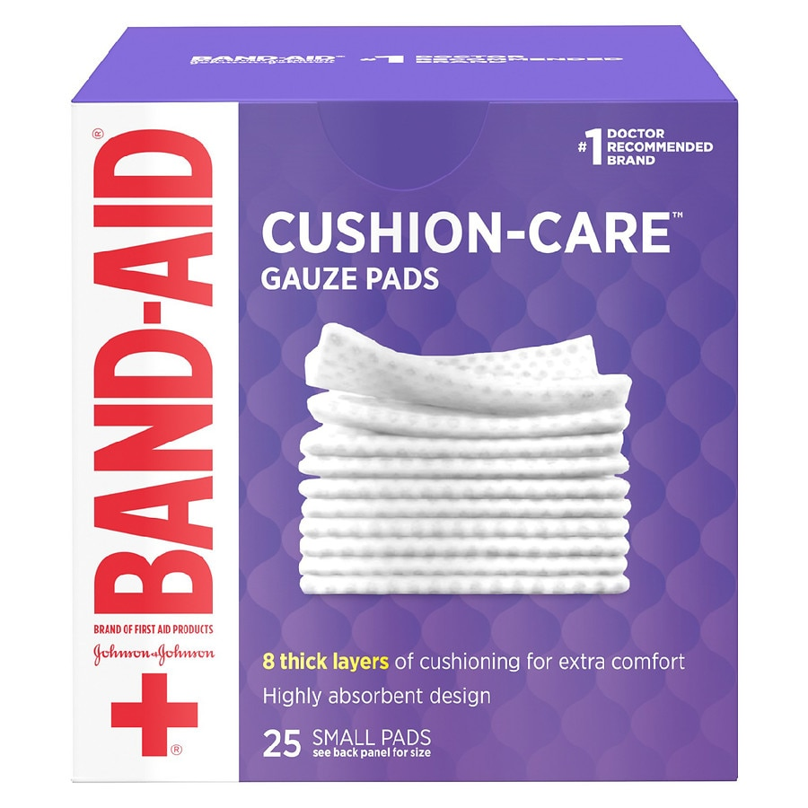 Band Aid First Gauze Pads Small 2 Inch X Inch250 Ea