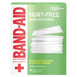 Band-Aid First Aid Covers Non-Stick Pads Large