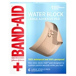 Band-Aid Waterproof Gauze Pad Large