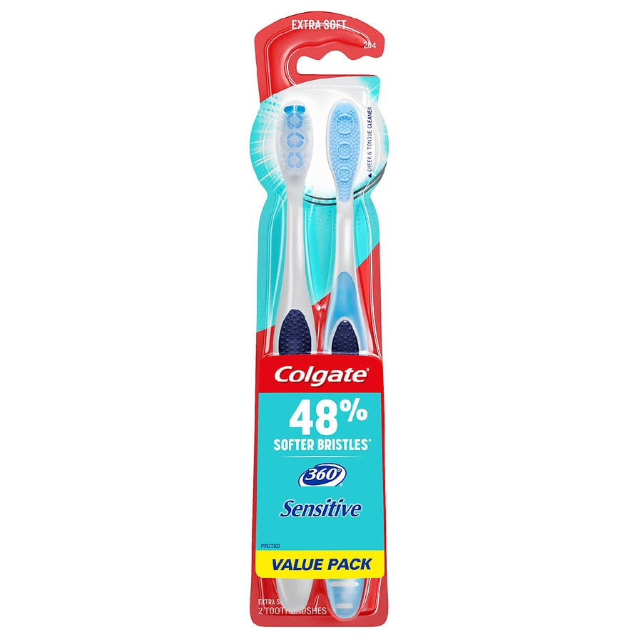 Colgate 360 Sensitive Extra Soft Toothbrush Value Pack2ea dce832b8e904