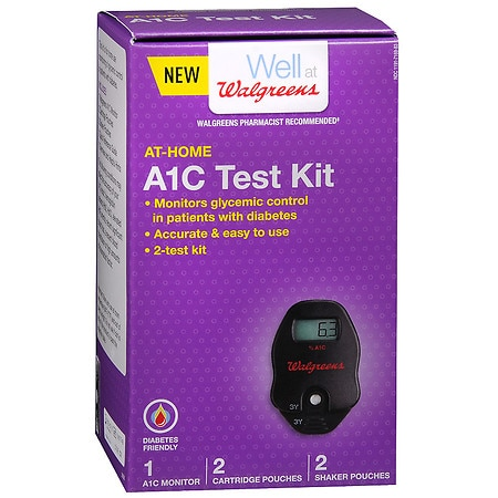 Walgreens At-Home A1C Test Kit - 1 ea