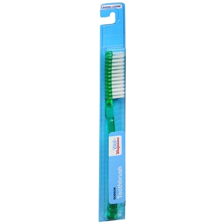 Walgreens Toothbrush Firm Large Head - 1 ea x 72 pack