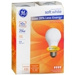 GE Soft White halogen Energy Efficient 29 Watt